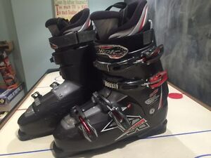 Nordica One CX Ski Boots plus bag. Mens size 12