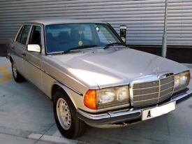 Mercedes Benz 280e W123 4 door Saloon Automatic
