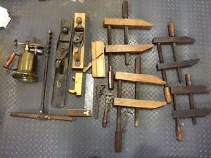 Lot d'outils antique