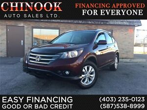 2013 Honda CR-V Touring AWD-No Accident,Navi,Htd Leather,Sunroof
