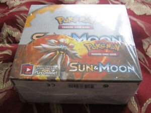 Pokemon Sun And Moon Booster Box (New Unopened)