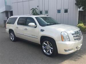 2011 CADILLAC ESCALADE ESV PLATINUM NAVIGATION CAMERA TV DVD