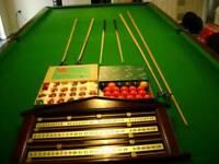 12ft full size snooker table
