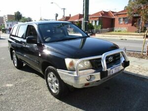 2004 Toyota Kluger MCU28R CVX AWD 5 Speed Automatic Wagon West Perth Perth City Area Preview