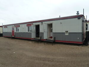12x60 Skid Office Trailer for Rental