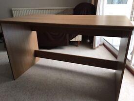 Oak Effect Desk - Emmbrook, Wokingham