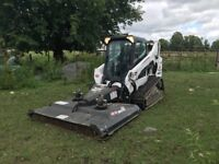 Dirt moving, land clearing, bobcat work