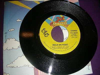 """Pop 45 Electric Light Orchestra """"Hold On Tight"""" Jet  1981 VG+"""