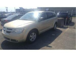 2010 DODGE JOURNEY 4 CYLINDRES 7 PASSAGERS CUIR CLIMATISEUR