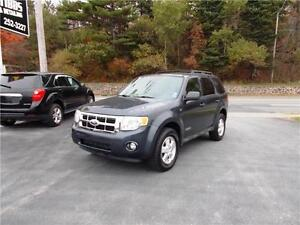 2008 FORD ESCAPE XLT 4WD...LOADED!! ONLY 91,000 KMS!! APPLY NOW!