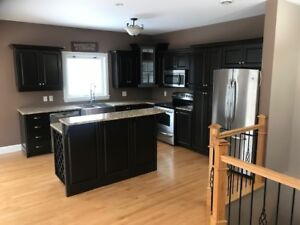 End unit 3 bedroom townhomes with finished basement