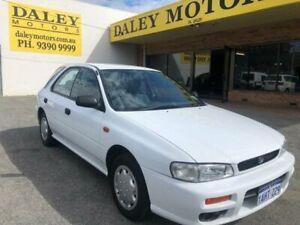 1998 Subaru Impreza N MY99 LX White Automatic Hatchback Kelmscott Armadale Area Preview