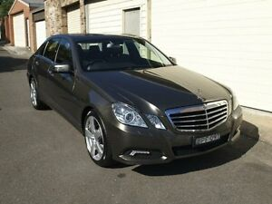 2010 Mercedes-Benz E250 CGI W212 Avantgarde Indium Grey 5 Speed Automatic Sedan Petersham Marrickville Area Preview