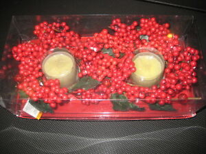 Xmas 2 set Candles - Brand New
