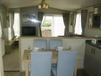 ABI Roxbury 3bedroom caravan high sepcification DG & CH with large front wrap deck and lake views!!