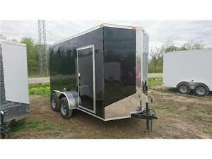 NEW 2017 6X12 ENCLOSED CARGO TRAILER ** EXTRA HEIGHT 84''