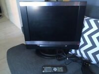 LCD TV 20inch with integrated DVD player