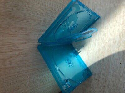 15 Pcs 14mm Quad 4 Disc Blu-ray Disc Dvd Cases Wblu-ray Logobl1404 Free Ship