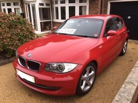 2009 BMW 118i Auto Crimson Red in excelent condition with many extras fitted, new MOT, 4 new tyres