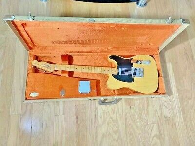 FENDER AMERICAN VINTAGE 52', BUTTERSCOTCH BLONDE, TELECASTER GTR W/ TWEED CASE
