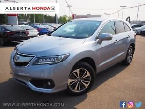 2016 Acura RDX ELITE * SINGLE OWNER, NO ACCIDENTS, LIKE NEW