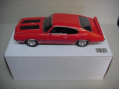 OLDS RALLY RED 442 W-30 455ci 1970 OLDSMOBILE 1/18 ACME #A1805605B LTD 150 pcs