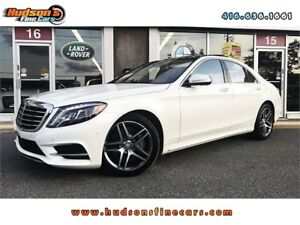 2014 Mercedes-Benz S-Class S-550 AMG NAVI 360CAM ONE OWNER AC...