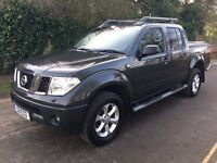 2007 Nissan Navara Adventure 2.5 Turbo diesel Automatic pick up truck private registration