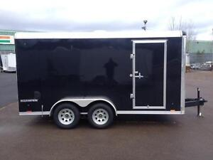 NEW 2016 PACE 7' x 14' CARGO SPORT ENCLOSED TRAILER