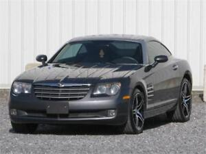 2005 CHRYSLER CROSSFIRE LIMITED FULL EQUIPEE/CUIR 86 000 KM