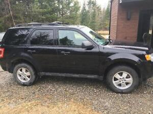 FORD ESCAPE 2008, 4 CYLINDRES NOIR, MAGS, 110000 KM 3699$