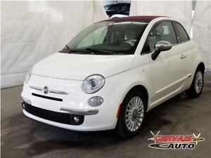 Fiat 500C Convertible Gucci Cuir Audio Bose MAGS 2012