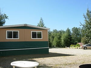 For rent 3 bedroom mobile home on 1 acre lot - Lessard Lake