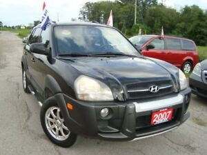 2007 Hyundai Tucson GLS Only 153km 4WD Accident & Rust Free