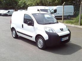 Peugeot Bipper 1.3 HDI 75bhp Van DIESEL MANUAL WHITE (2013)