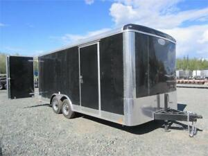 2019 18' cargo trailer with extra height