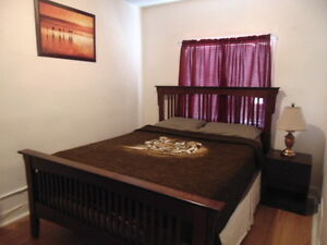 Furnished & Clean room for rent - Short or Long Term