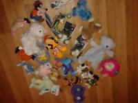 Selection of small & baby toys-job lot