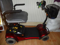 camio 4 mobility scooter
