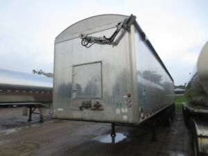 2013 Trout River Aluminum 48 Ft Quad/A Shuttle Floor Trailer