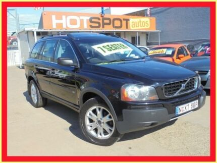 2005 Volvo XC90 2.5T Black 5 Speed Auto Geartronic Wagon Holroyd Parramatta Area Preview