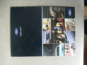 FORD 1985 Brochure $5.00, also some other makes and years. London Ontario image 3