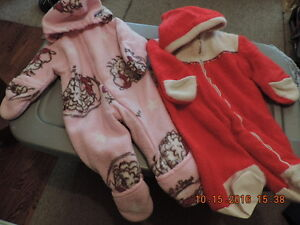 Infant's Snow Suits and Bunting Bags