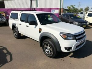 2010 Ford Ranger PK XL (4x2) White 5 Speed Automatic Dual Cab Pick-up Dubbo Dubbo Area Preview