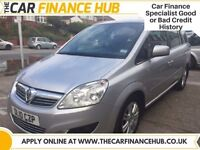 BAD CREDIT, NEED A CAR ?....PAY AS YOU GO FINANCE....VAUXHALL ZAFIRA.....representative APR 14.5%