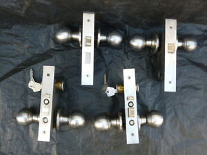 Serrures a mortaise Commercial mortise locksets