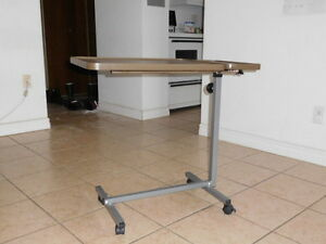 hospital movable table with wheels for sale