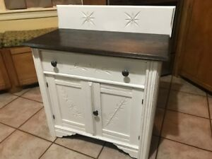 Antique Night Stand/ End Table