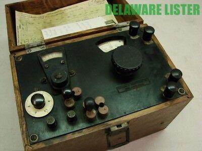 Vintage Leeds Northrup Co. Potentiometer Millivolt Thermo-couple
