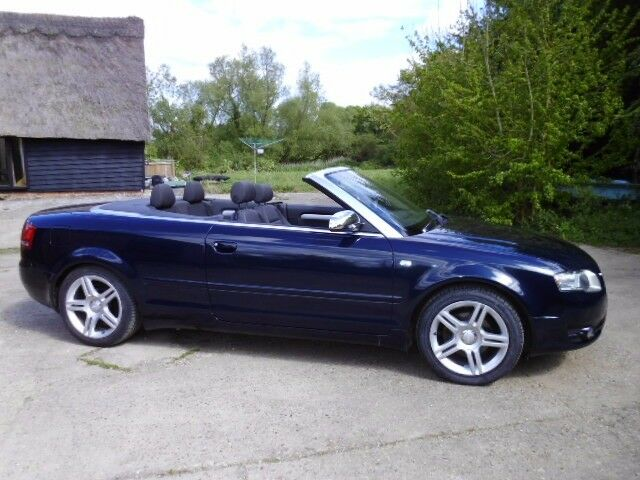 Audi A4 Cabriolet Convertible Tdi 2008